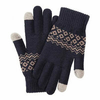 Перчатки Xiaomi FO Touch Wool Gloves 160/80, синий (ST20190601)